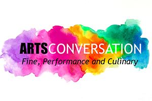 Arts Conversation backdrop