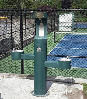 Water Station at Pickleball Courts