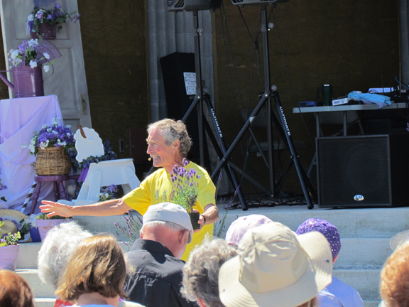 Ciscoe Morris at Lavender in the Park
