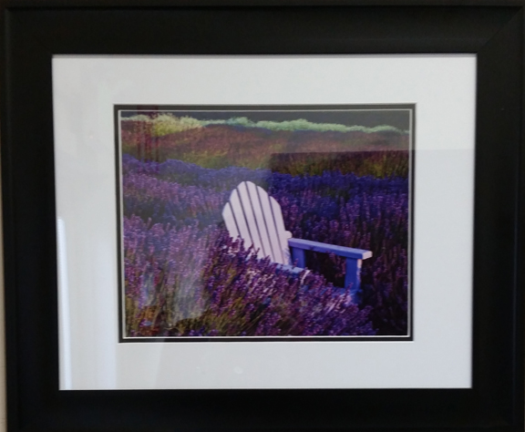 Chair in Lavender small