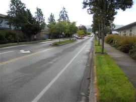 South Sequim Avenue October 10, 2011.