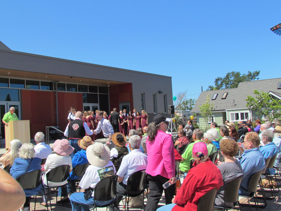 Civic Center Dedication Ceremony